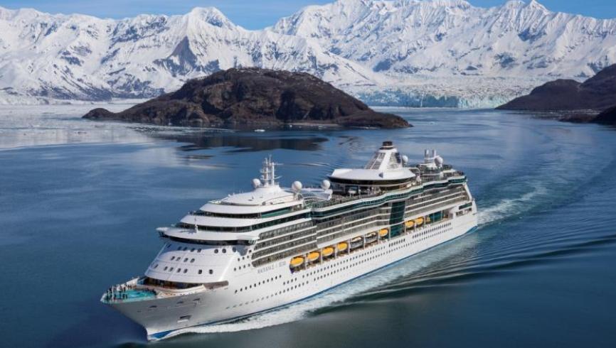 Royal Caribbean Cruise Radiance of the Seas<br>皇家加勒比 海洋燦爛號<br>阿拉斯加 哈伯冰河北上航線12天