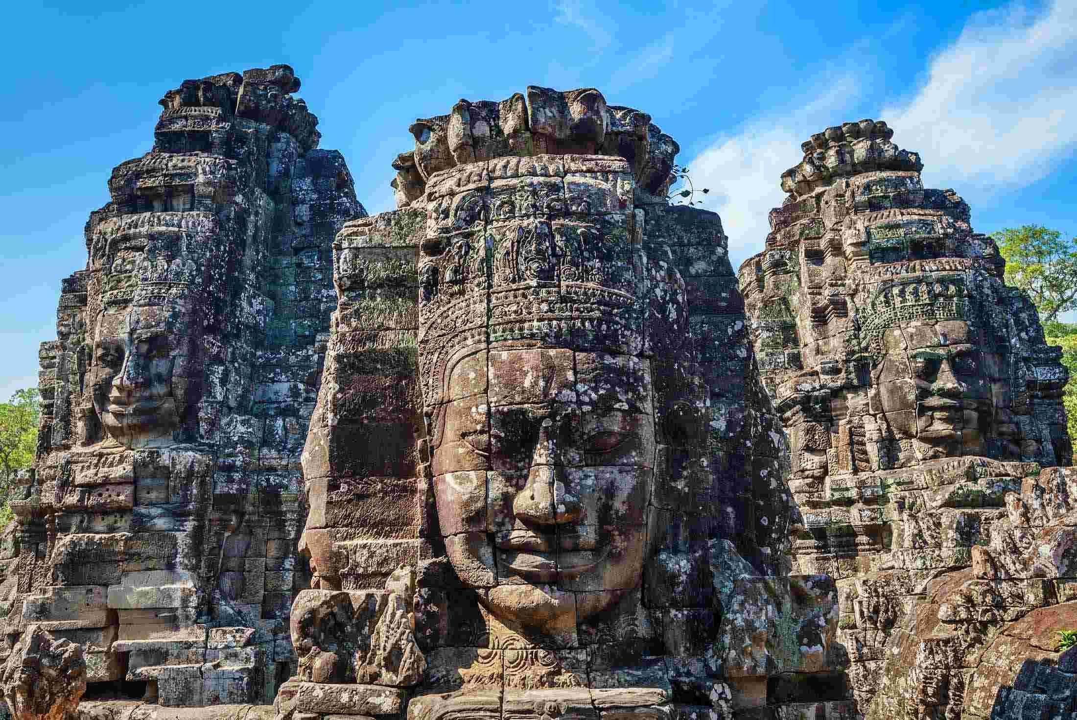 柬埔寨吳哥窟梅瀾的微笑五天