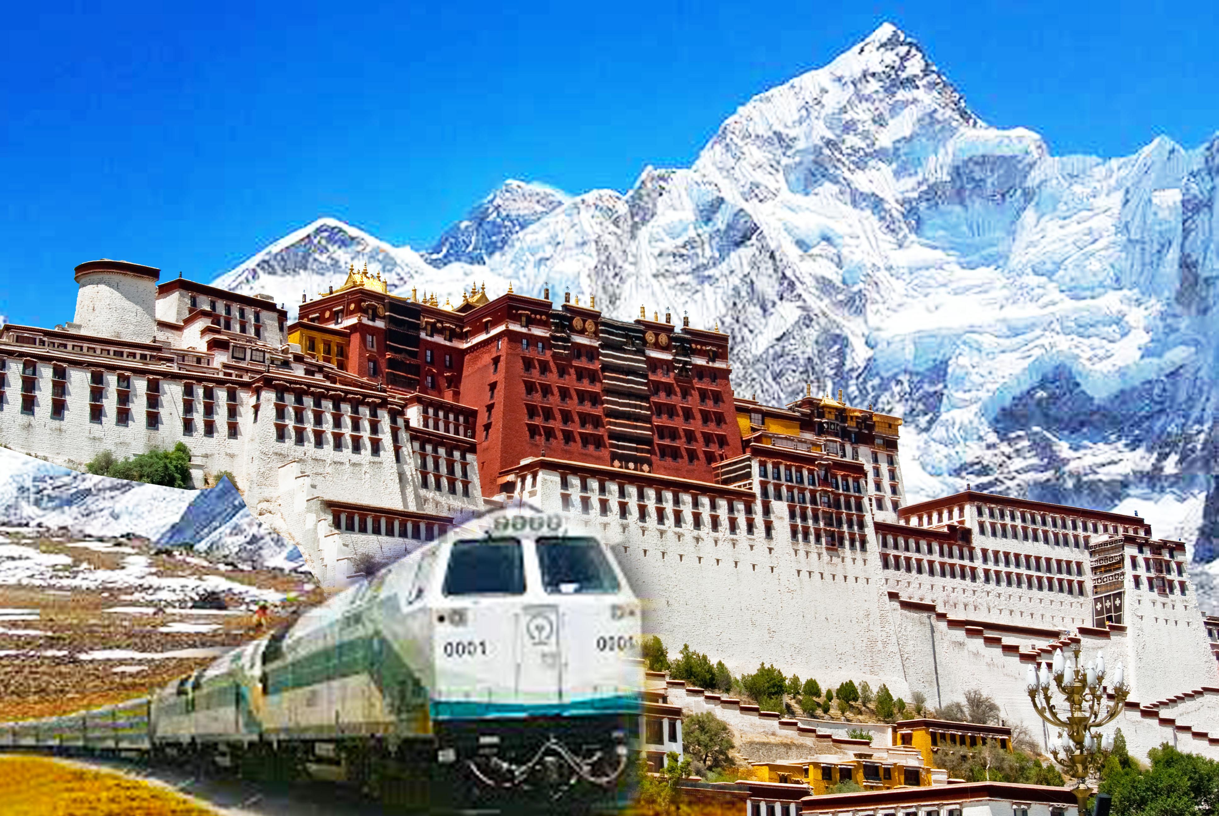 西藏~世界屋脊林芝(西藏江南) 拉薩(前藏) 日喀則(後藏)  珠峰大本營 西寧 青藏鐵路(下行軟臥)13日