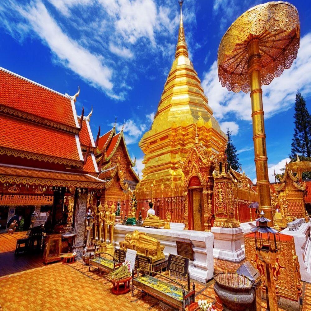 泰國泰北清邁玩透透叢林探險騎象六天