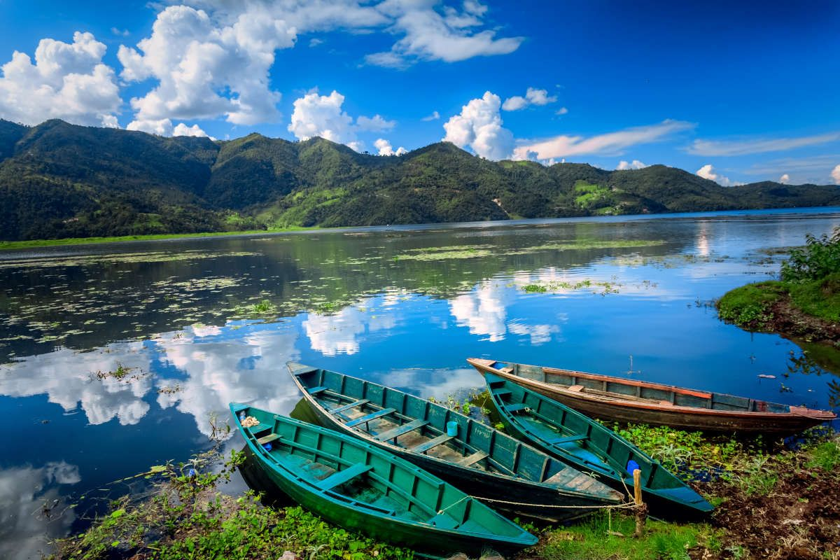 尼泊爾 喜瑪拉雅仙境 55扇窗宮殿納加闊山城費娃湖八天