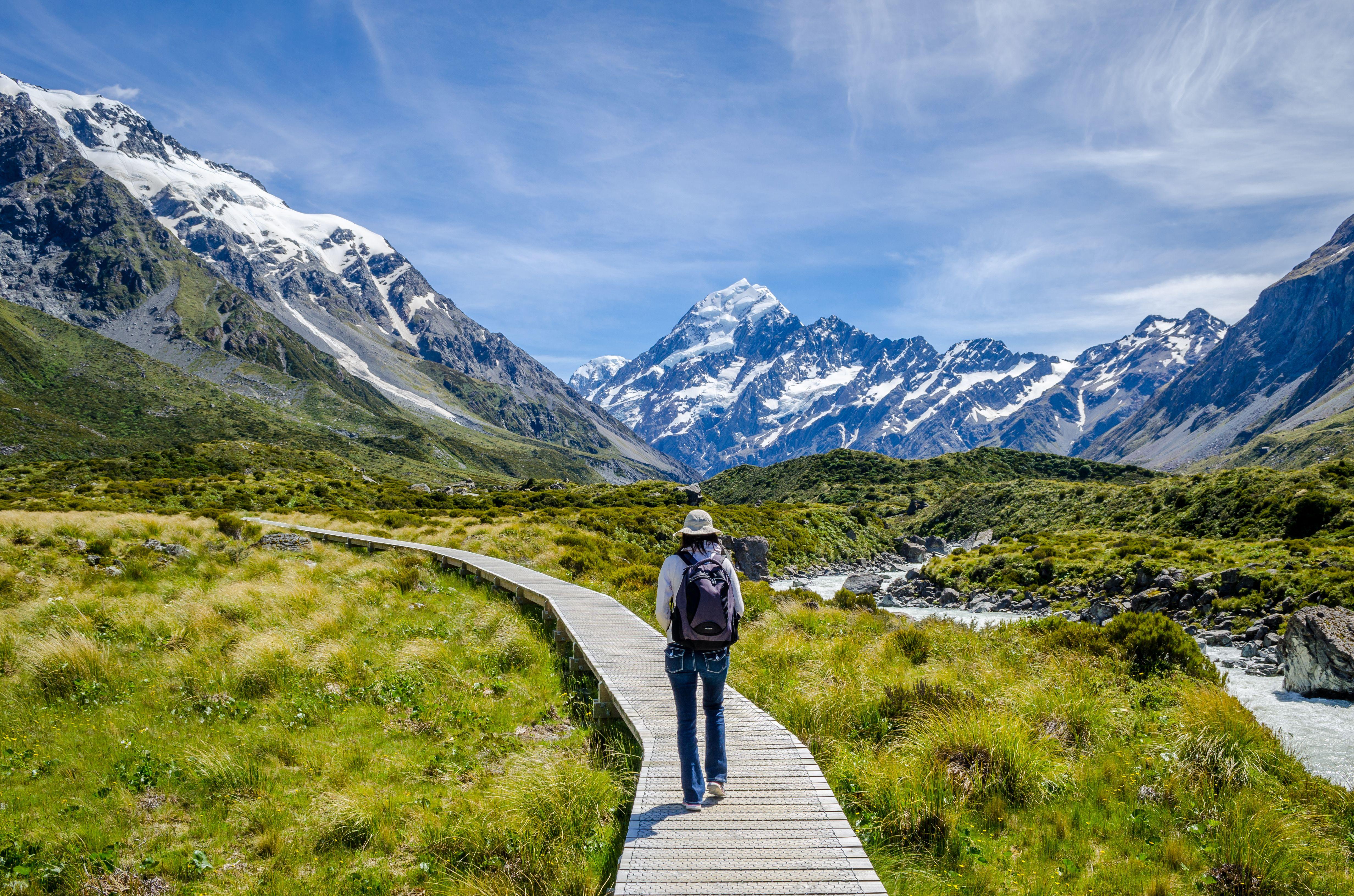 紐西蘭南北島自然風光8天 (紐航)