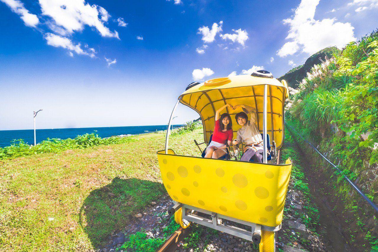 北台灣慢活~深澳自行車、和平島、十分瀑布、尋找摩艾石像 3日遊