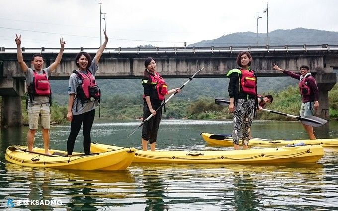 【獨木舟】飽覽河岸!福隆雙溪河風光獨木舟教學體驗