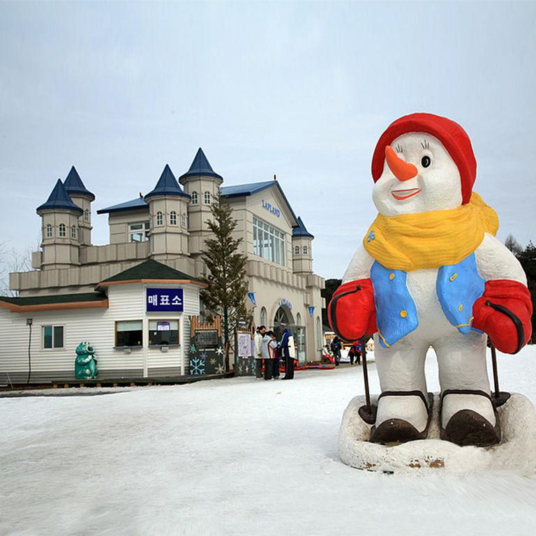 雪戀南怡島韓國滑雪長腳蟹吃到飽五日